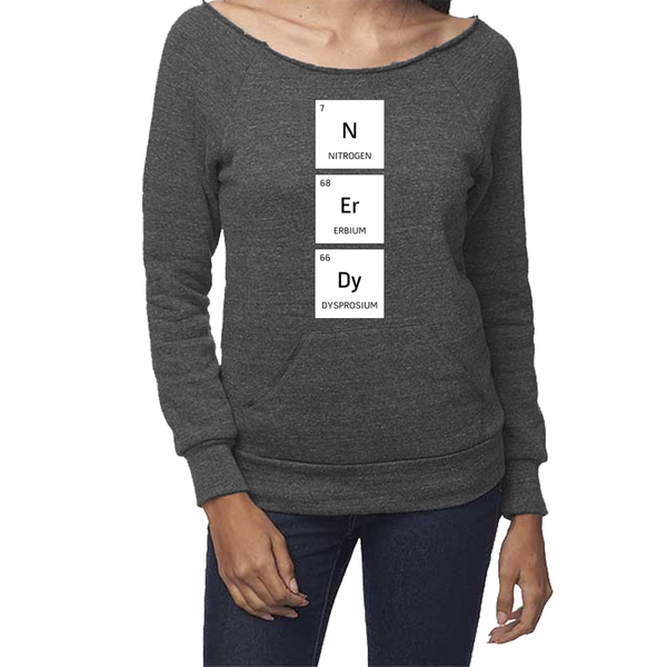 rPet & Organic Cotton Graphic Sweatshirts for Women | Nerdy-Eco Conscious Clothing