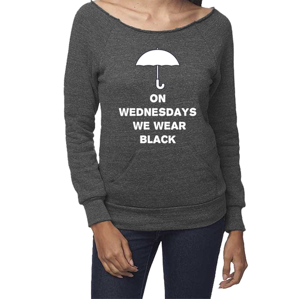 rPet & Organic Cotton Graphic Sweatshirts for Women | Wednesdays-Eco Conscious Clothing