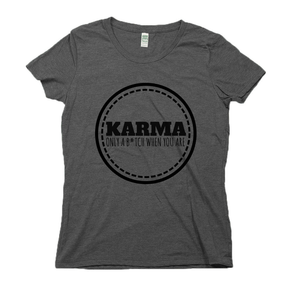 rPet & Organic Cotton Graphic Tees for Women | Karma-Eco Conscious Clothing