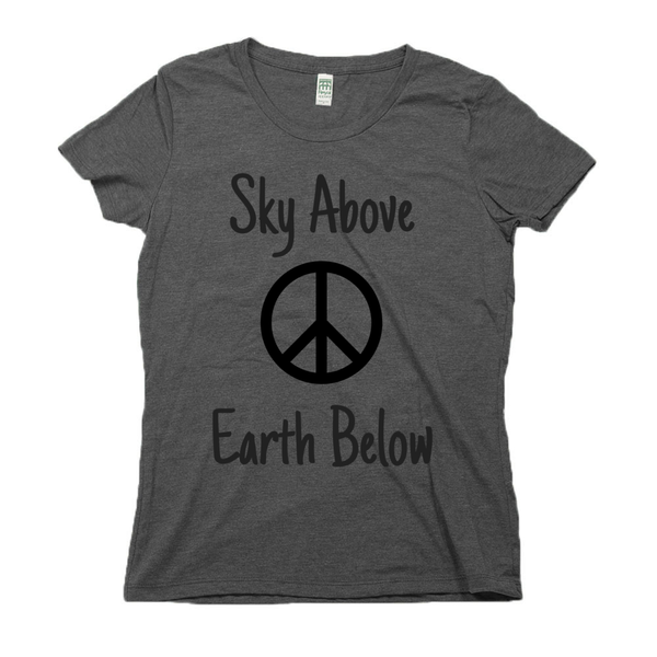rPet & Organic Cotton Graphic Tees for Women | Peace-Eco Conscious Clothing