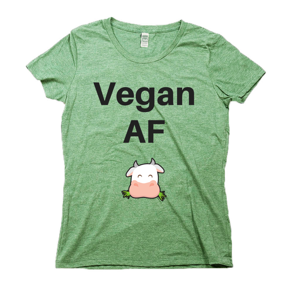 rPet & Organic Cotton Graphic Tees for Women | Vegan AF-Eco Conscious Clothing
