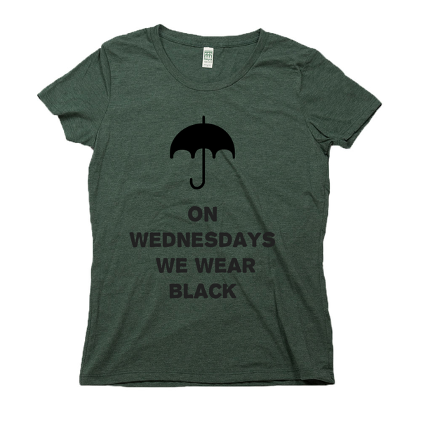 rPet & Organic Cotton Graphic Tees for Women | Wednesday-Eco Conscious Clothing