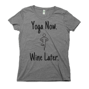 rPet & Organic Cotton Graphic Tees for Women | Yoga Now-Eco Conscious Clothing