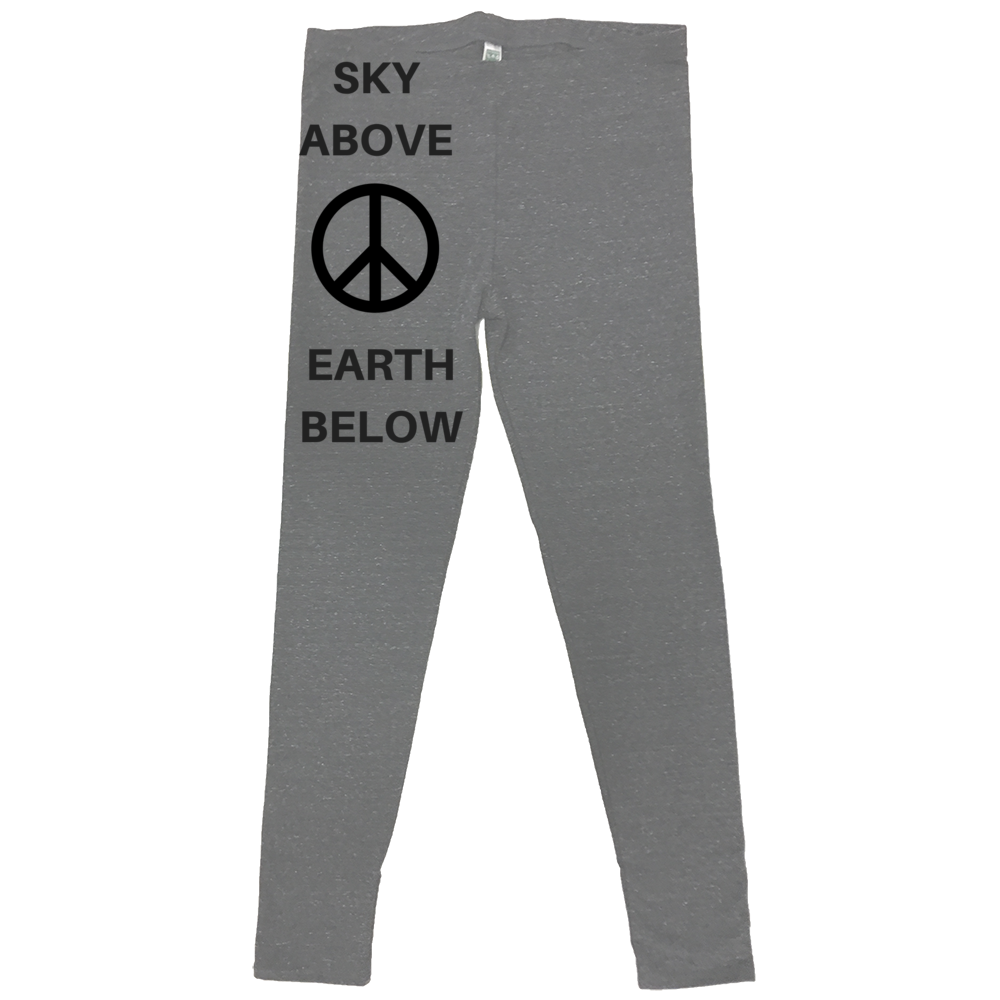 rPet & Organic Cotton Leggings for Women | Peace-Eco Conscious Clothing