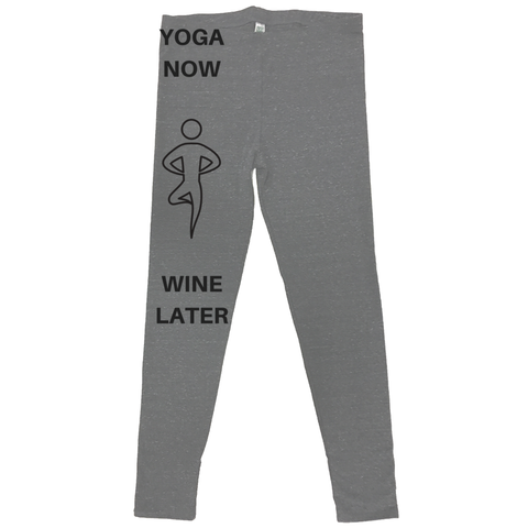 rPet & Organic Cotton Leggings for Women | Yoga Now-Eco Conscious Clothing