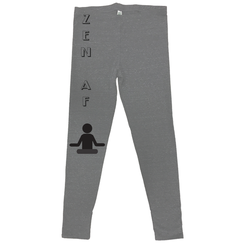 rPet & Organic Cotton Leggings for Women | Zen AF-Eco Conscious Clothing