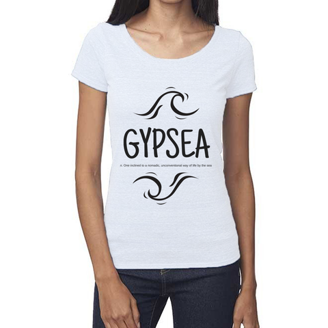 rPet & Organic Cotton Scoop Neck Tee | Gypsea-Eco Conscious Clothing