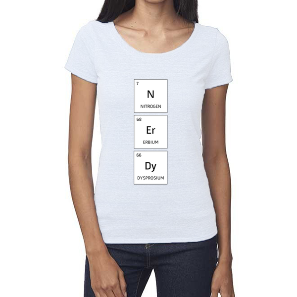 rPet & Organic Cotton Scoop Neck Tee | Nerdy-Eco Conscious Clothing