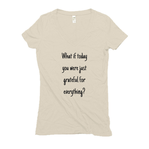 Women's V Neck T Shirts - Hemp | Grateful-Eco Conscious Clothing
