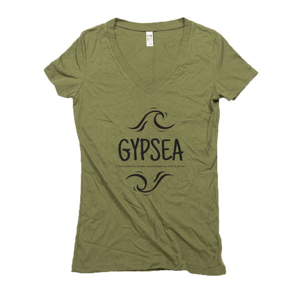 Women's V Neck T Shirts - Hemp | Gypsea-Eco Conscious Clothing