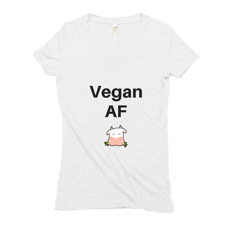 Women's V Neck T Shirts - Hemp | Vegan AF-Eco Conscious Clothing