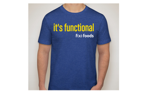 it's functional t-shirt