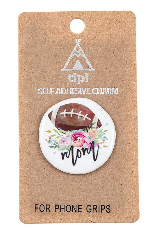 Football Mom Cellphone Grip