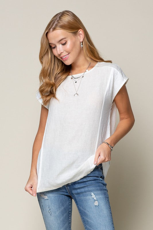 Hayley Linen Top