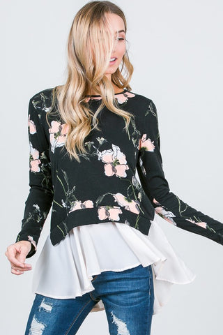Fun in Floral Top