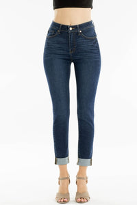 KanCan Dark Wash high waist Skinny Jean