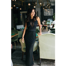 Load image into Gallery viewer, Maxi Black Phemie Dress