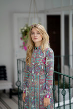 Load image into Gallery viewer, Long Sleeve Paisley Print  Dress