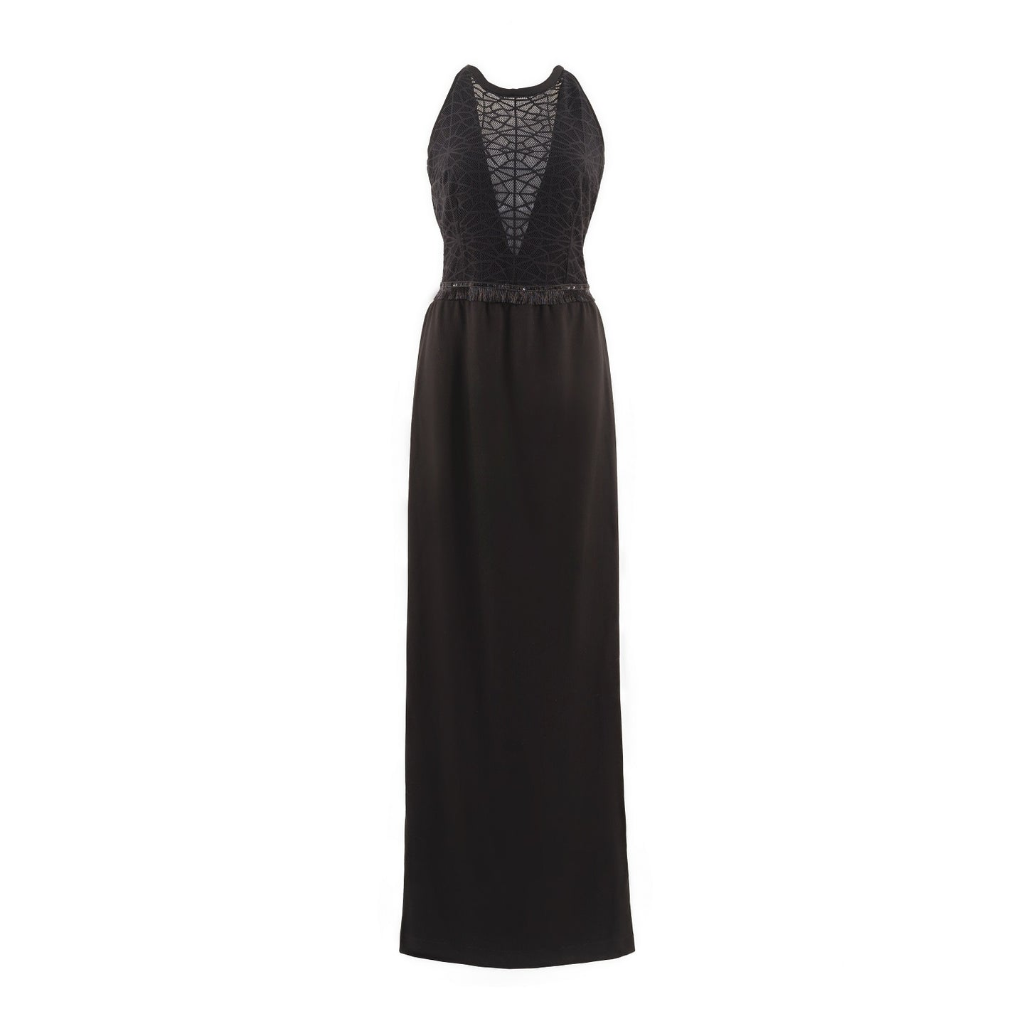 Maxi Black Phemie Dress