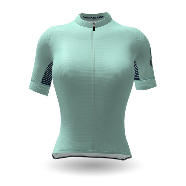Feather Unisex Cycling Jersey Light blue