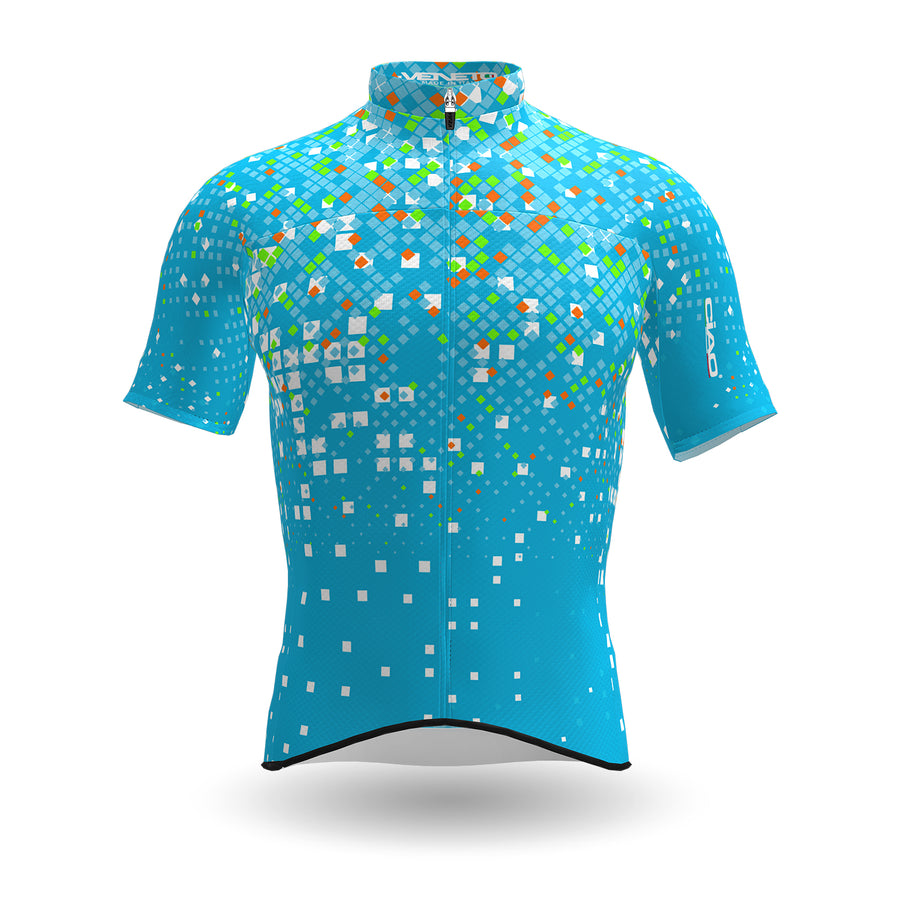 Venezia Cycling Jersey Turquoise Fluo