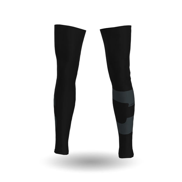 Cycling Legwarmers Black
