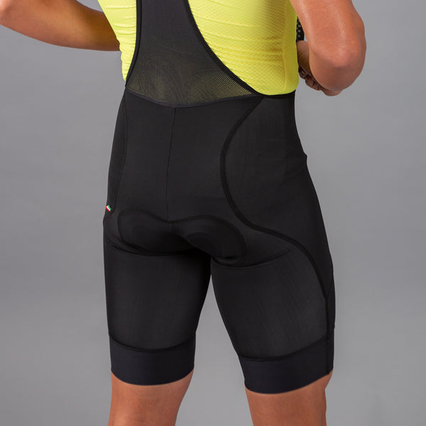 Super Pro Mens Bib Short Black