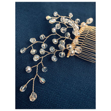 Load image into Gallery viewer, Large Swarovski Crystal Hair Comb