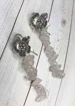 Load image into Gallery viewer, Rose Quartz Earrings