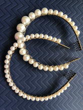 Load image into Gallery viewer, Trendy Pearl Headband