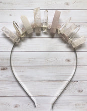 Load image into Gallery viewer, Rose Quartz Natural Crown