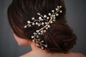 Large Swarovski Crystal Hair Comb