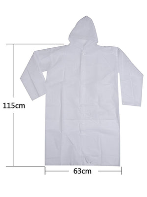 Adult Portable Raincoat Rain Poncho with Hoods and Sleeves - Better.Plus