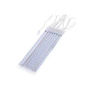 8 Tubes Cascading LED Meteor Icicle Shower Rain String Lights for Christmas - Better.Plus