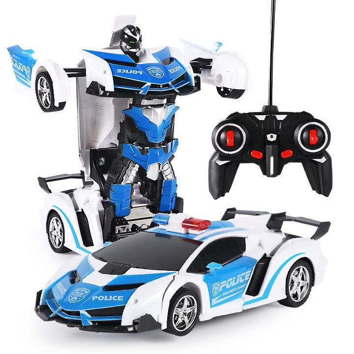 1:18 Remote Control Deformation Car and Robot with One Button Transformation - Better.Plus