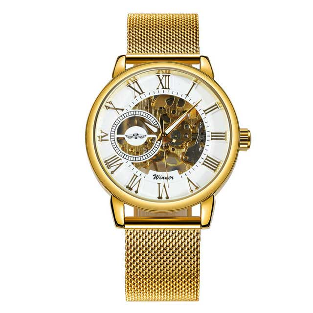 Golden Skeleton Automatic Watch - Better.Plus
