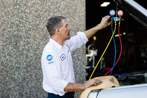 car ac blowing hot air? Visit A AutoCare for a free ac diagnostic