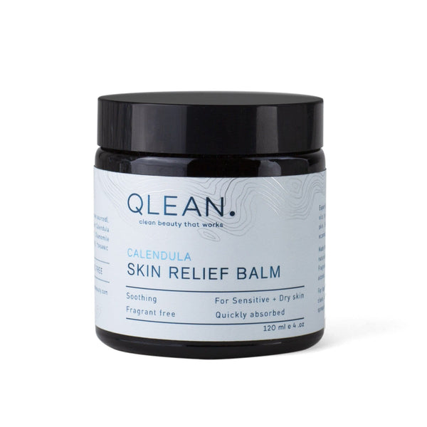 Organic Skin Relief Balm With Calendula 60ml/120ml Body QLEAN