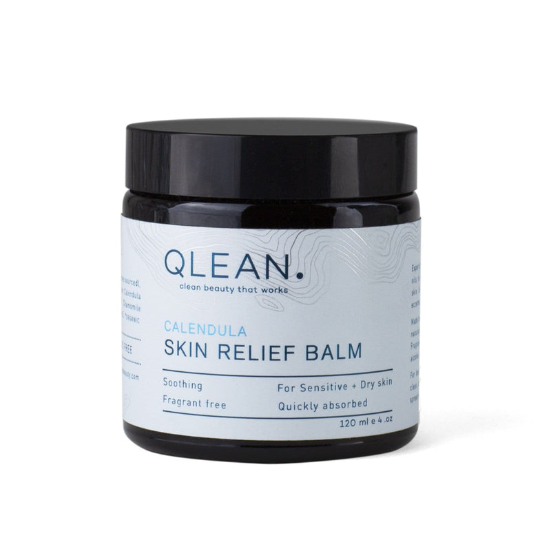 Organic Skin Relief Balm With Calendula 15ml / 60ml / 120ml Body QLEAN