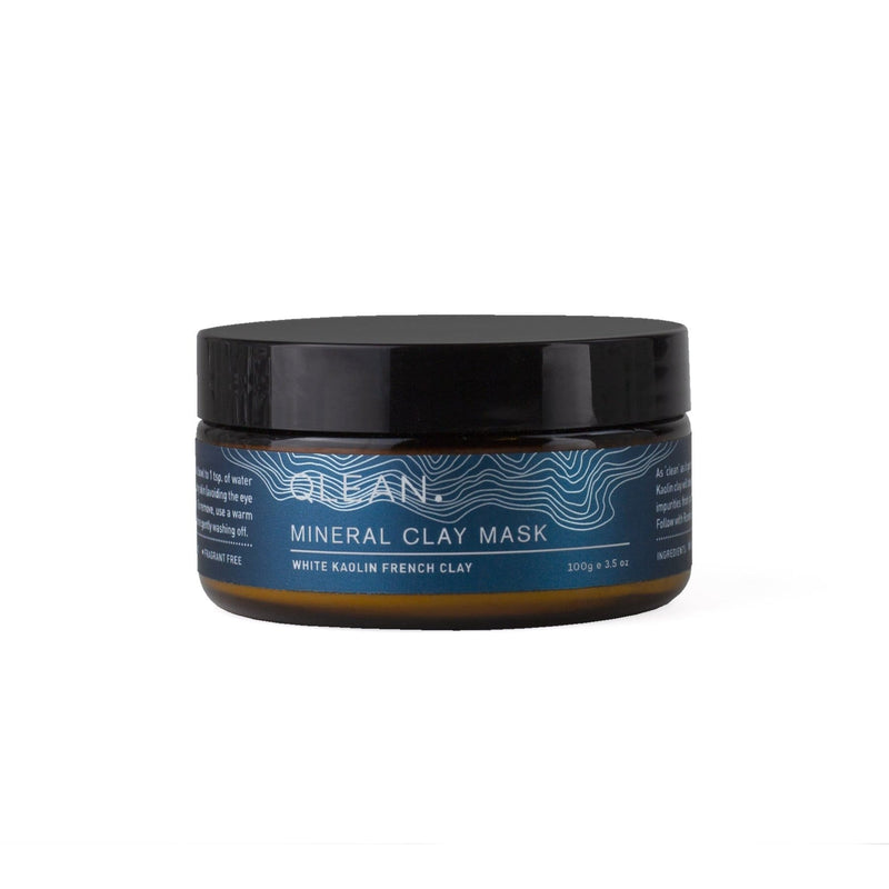 Kaolin Mineral Clay Mask 100 ml Face QLEAN