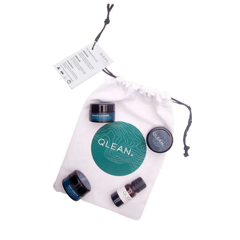 Qlean Essentials Travel Pack Gifts and Sets QLEAN