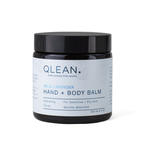Hand + Body Balm - Wild Lavender 60ml / 120ml Body QLEAN