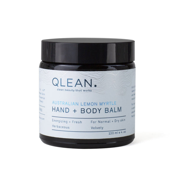 Organic Hand + Body Balm - Lemon Myrtle 60ml/120ml Body QLEAN