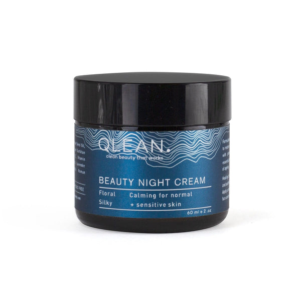 Beauty Night Cream 15ml / 60ml Face QLEAN