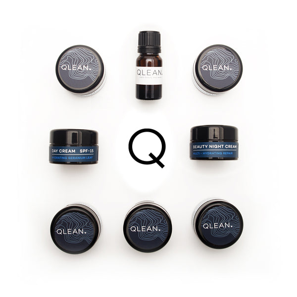 QLEAN Complete Travel Pack Samples QLEAN