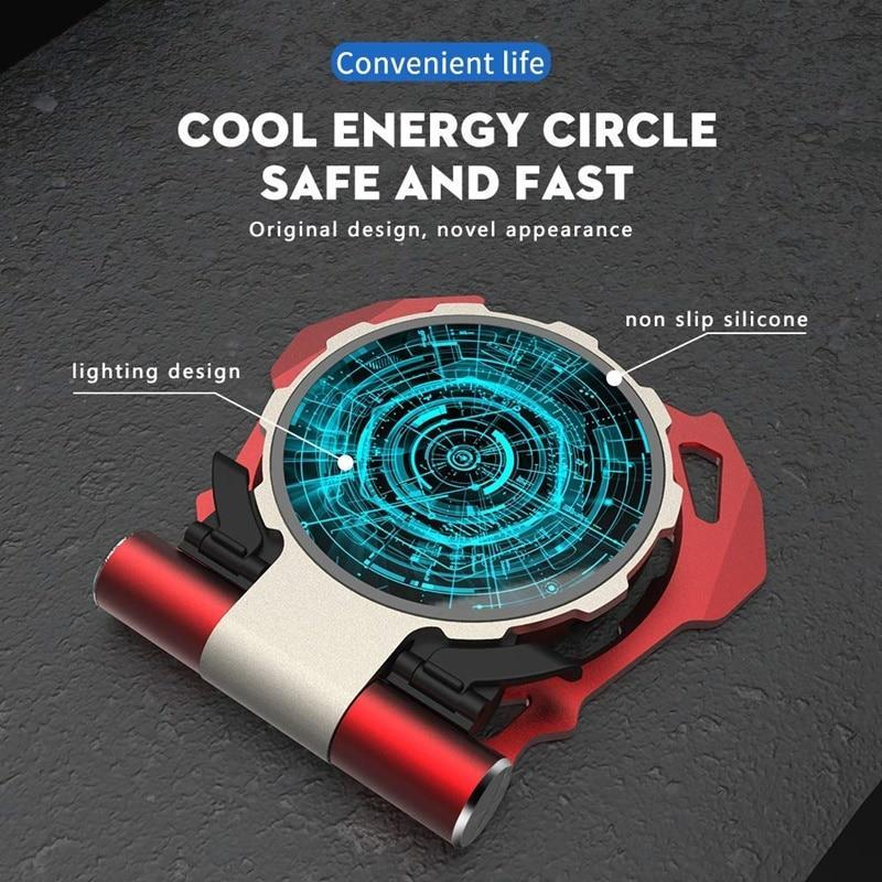 Arc Reactor Luminous Wireless Charger - Wireless Chargers - PurpliKi