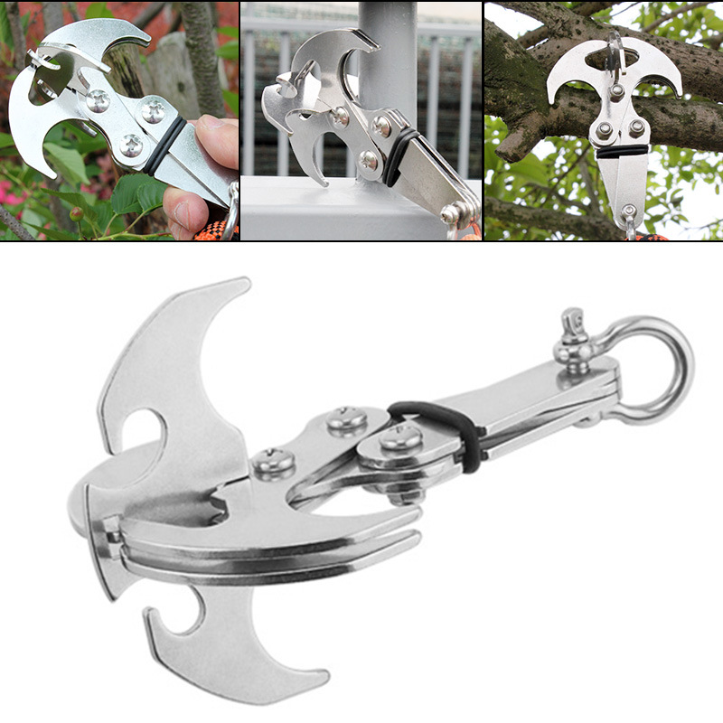 Stainless Steel Survival Folding Gravity Hook (50%OFF)