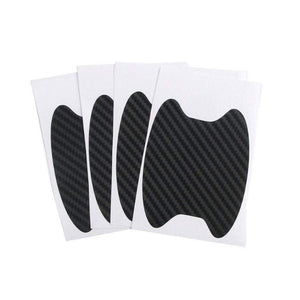 Discoverer One Black 4Pcs/Set Car Door Sticker Scratches Resistant Cover Auto Handle Protection Film