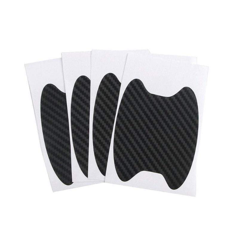Discoverer One Black 4Pcs/Set Car Door Sticker Scratches Resistant Cover Auto Handle Protection Film Exterior Accessory