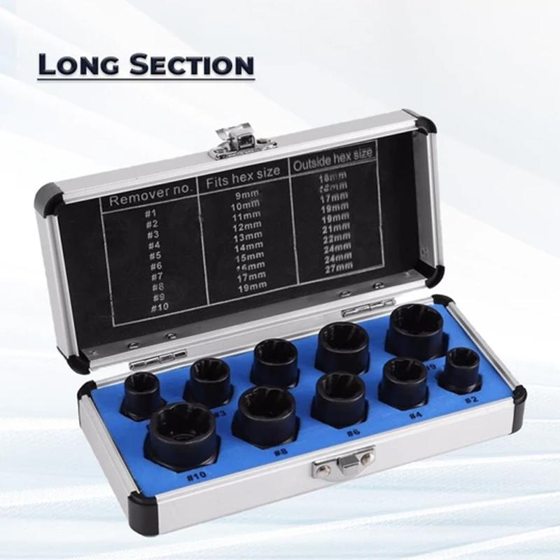 Nuts And Bolts Extracting Tool Set